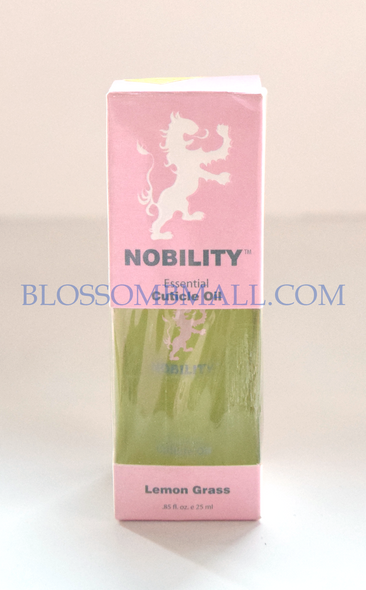 Nobility Cuticle Oil - Lemon Grass
