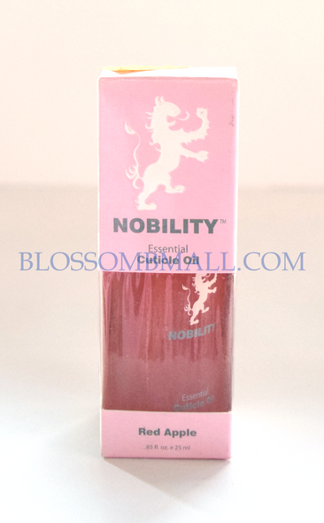 Nobility Cuticle Oil - Red Apple