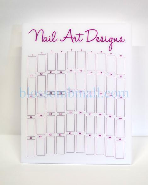 Nail Design Art Board