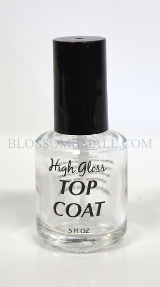Empty Polish Bottle - Top Coat