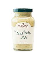 Basil Pesto Aioli | Lock, Stock &  Barrel