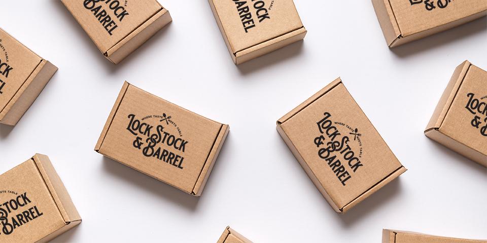 Lock Stock & Barrel Shipping Boxes