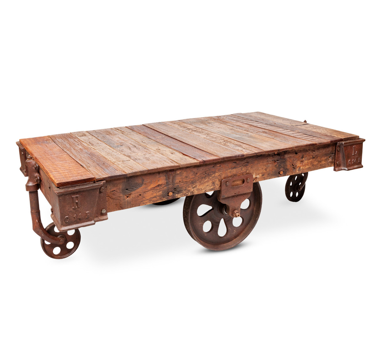 Reclaimed Timber Cart Coffee Table Buy Coffee Tables Online