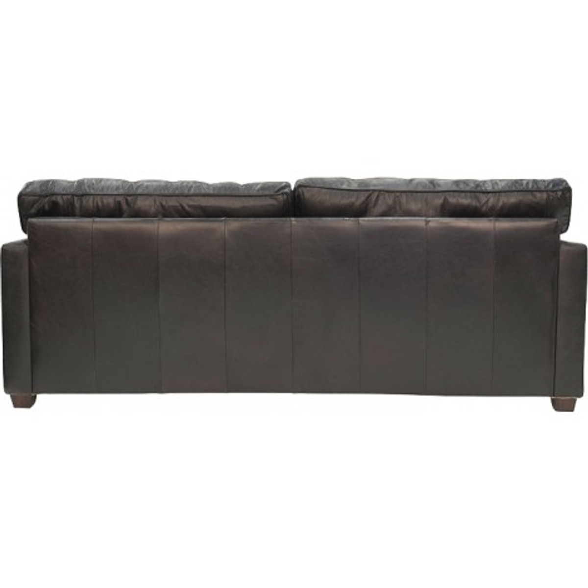 Picture of: West End 3 Seater Worn Black Leather Sofa Cargo Lane