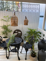 Cast Iron Outdoor Table