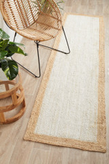 Noosa 222 White Natural Runner