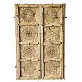 Antique Hand Carved Decoration Doors