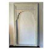 White Timber Arch