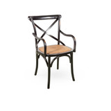 The Crossback chair has an ageless and classic look that makes it an extremely versatile and popular dining chair. The cafe scene has fallen in love with this chair and passed the passion on to interior designers and home stylists wanting to add some Parisan chic or rustic elegance to the dining room. 3/4 view