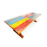 boat timber table