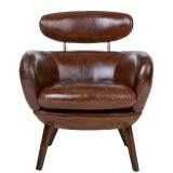 Stylist Leather Armchair