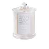 Byron Bay Candle Vanilla Caramel - Sweet, rich and buttery caramel scent laced with overlays of warm creamy vanilla. Pure soy fragranced candle.