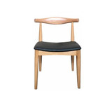 Elbow Dining Chair Natural - bring a touch of mid Century styling to your space. The Elbow Beechwood Dining Chair is where utility and design meet, channelling the sleek lines of mid Century Don Draper style but equally at home in a Scandi dining design theme.