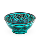 Moroccan Medium Bowl Turquoise