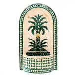 Moroccan Mosaic Water Fountain ** ORDERS ONLY