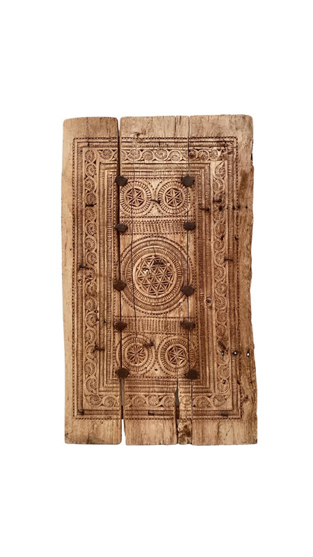 Antique Indian Wall Panel