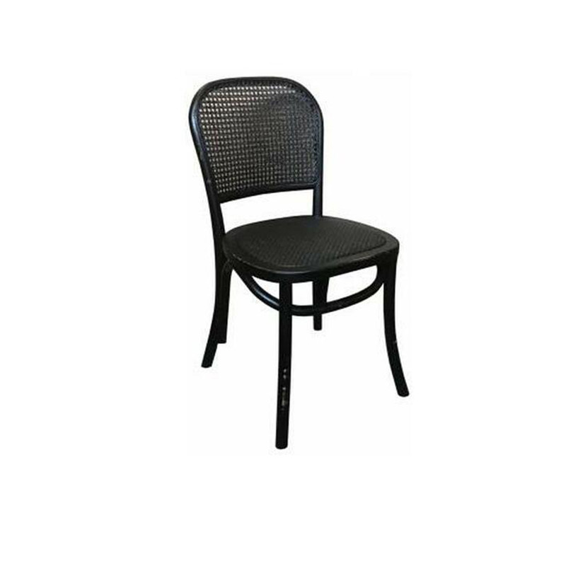 Our Rattan dining chair is supremely comfortable and stylish and would suit most styles of decor, from Beachside contemporary, Hamptons, French Farmhouse and Country. Black