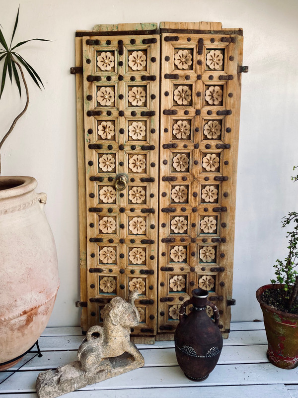 Hand Carved Antique Doors