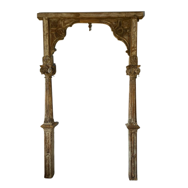 Antique Indian Wooden Arch