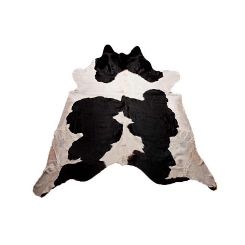 Natural Cow Hide Rug 50/50 Black and White