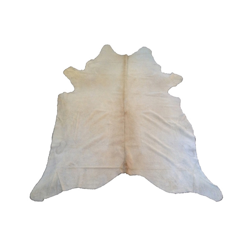 Cow Hide Cream White