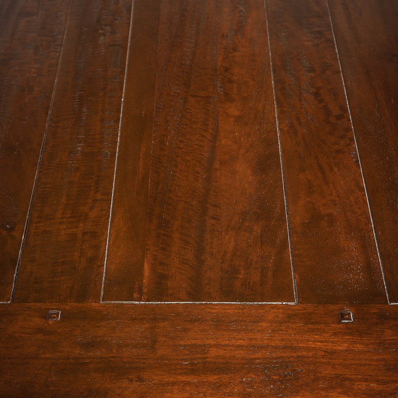 Woodgrain Mango Wood Dining Table