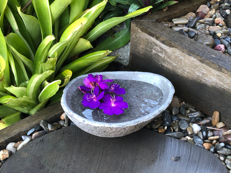 Natural Stone Water Bowl