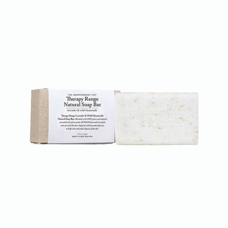 Therapy Range Natural Soap Bar Lavender & Wild Chamomile 150g