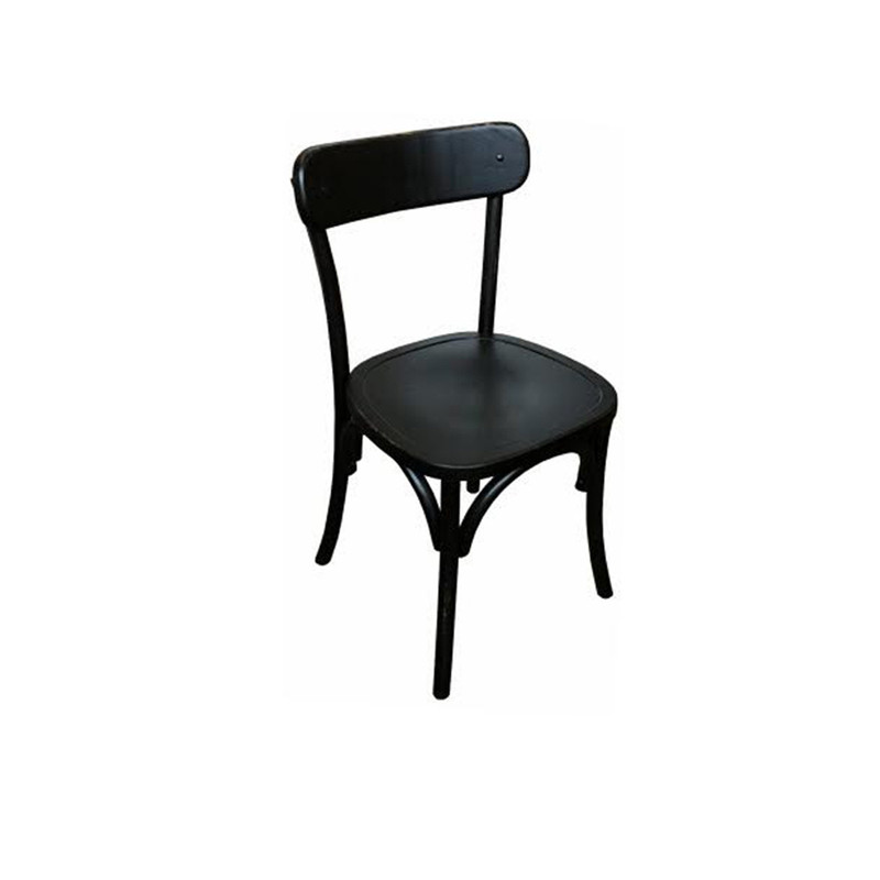 Regatta Dining Chair Black - Classic dining chair design which will add a simple clean line to eclectic, vintage, and modern clean line dining settings.