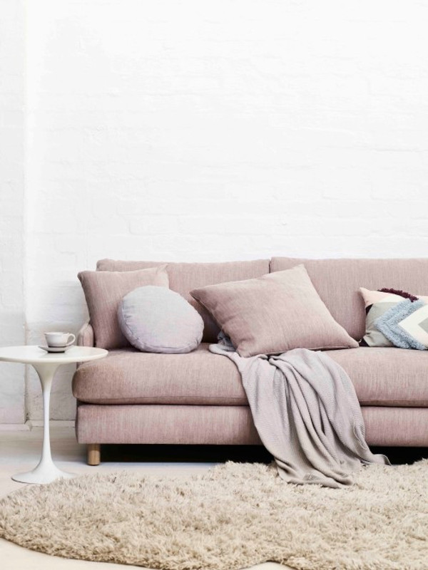 The Rydell 4 seater sofa was designed with the 70's in mind. Featuring deep seated comfort with plush feather filled cushions, turned timber legs and modern shelter arms. The Rydell will suit contemporary interiors. Lifestyle