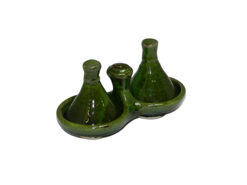 Twin Tamegroute Condiment Tagine