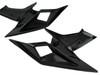 Inner Finishing Radiator Fairings in Glossy Plain Weave Carbon Fiber for KTM 1290 Super Duke 2017+