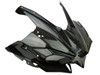 Front Fairing with Air Intakes in Glossy Twill Weave Carbon Fiber for Kawasaki H2