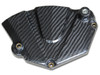Glossy Twill Weave Sprocket Cover for Yamaha R6 2006+