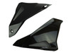 Side Panels in Glossy Twill Weave Carbon Fiber for Yamaha FZ-10-MT-10