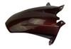 Rear Hugger in Black and Orange Glossy Twill Weave Carbon Fiber for KTM RC8 2008+