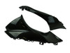 Air Duct Covers in Glossy Twill Weave Carbon Fiber for Suzuki GSX-R1000 2017+