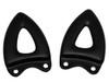 Heel Plates in Matte Plain Weave Carbon Fiber for Triumph Speed Triple 1050 05-10