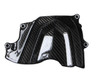 Sprocket Cover in Glossy Twill Weave Carbon Fiber for Kawasaki ZX6R 2013+