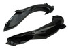 Air Ducts in Glossy Twill Weave Carbon Fiber for Aprilia RSV4 2016+