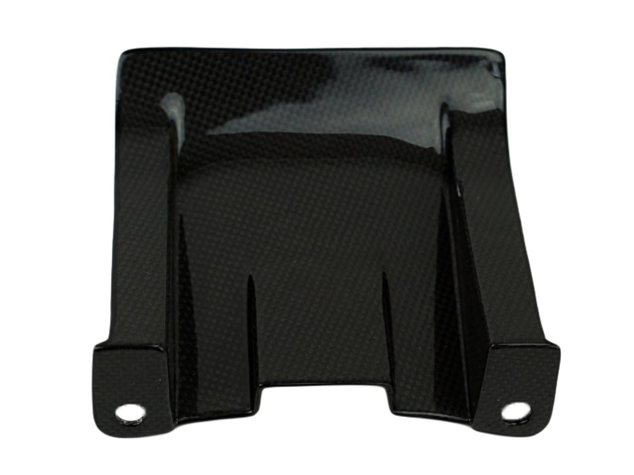 Rear Hugger in Glossy Plain Weave Carbon Fiber for Suzuki GSXR600 1996-2003