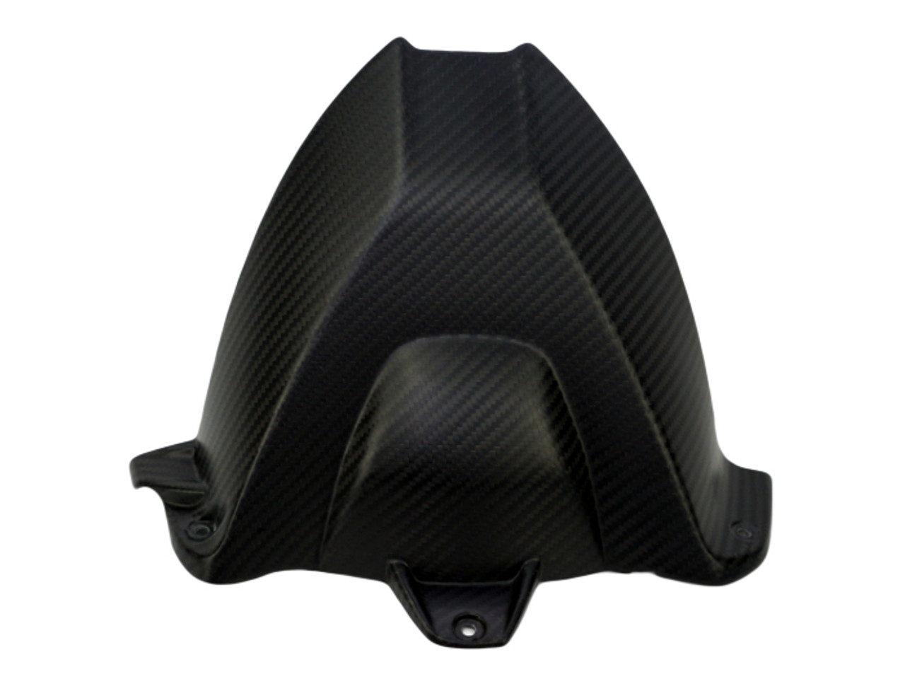 Rear Hugger w/o cutout in Matte Twill Weave Carbon Fiber for BMW S1000RR, S1000R