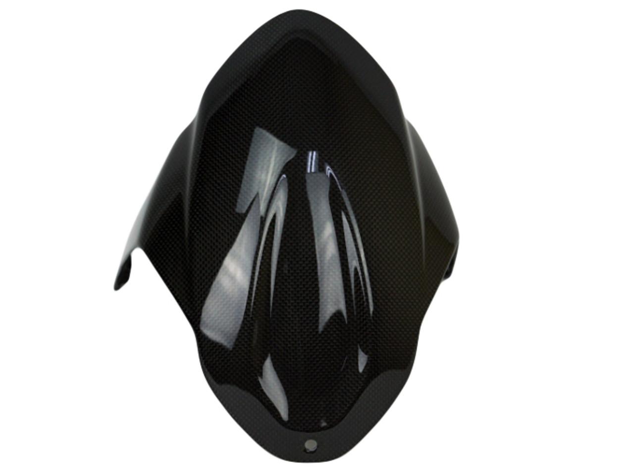 Front Fender in Glossy Twill Weave Carbon Fiber for MV Agusta Brutale 800 2016+