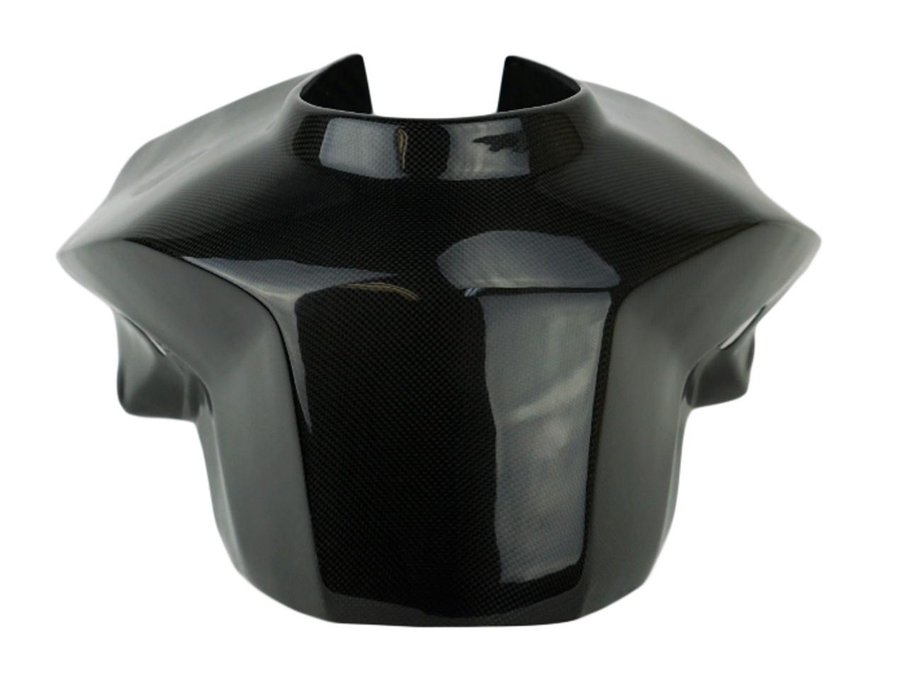 Full Tank Cover in Glossy Plain Weave Carbon Fiber for KTM 1290 Super Duke R