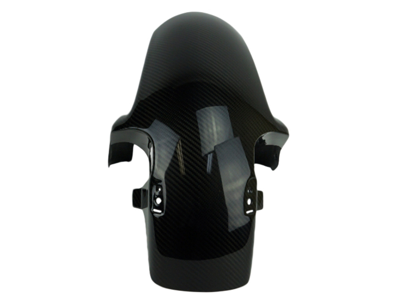Front Fender in Glossy Twill Weave Carbon for Honda CB1000R 08-17