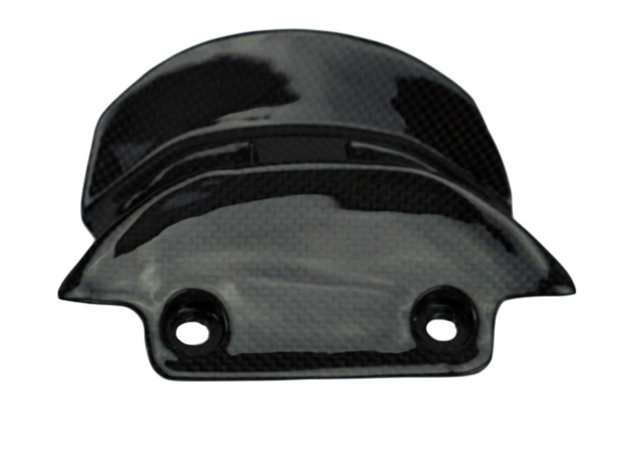 Rear Fairing in Glossy Plain Weave Carbon Fiber for Ducati XDiavel