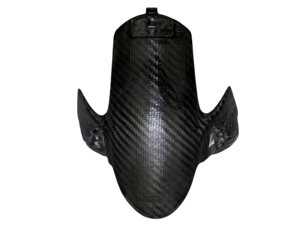 Front Fender in Glossy Plain Weave Carbon Fiber for Ducati Panigale V4
