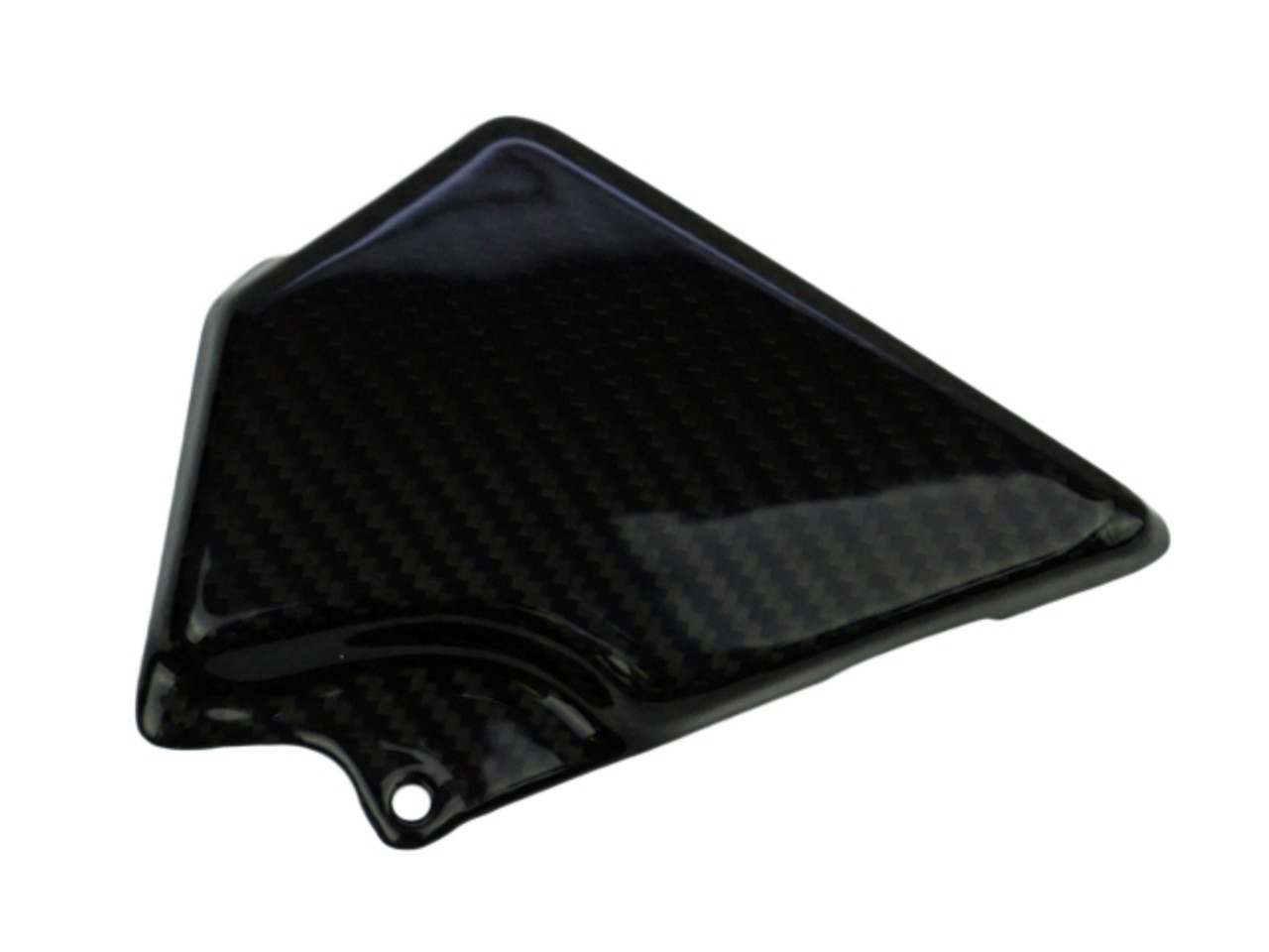 ABS Cover in Glossy Twill Weave Carbon Fiber for Kawasaki Z900RS