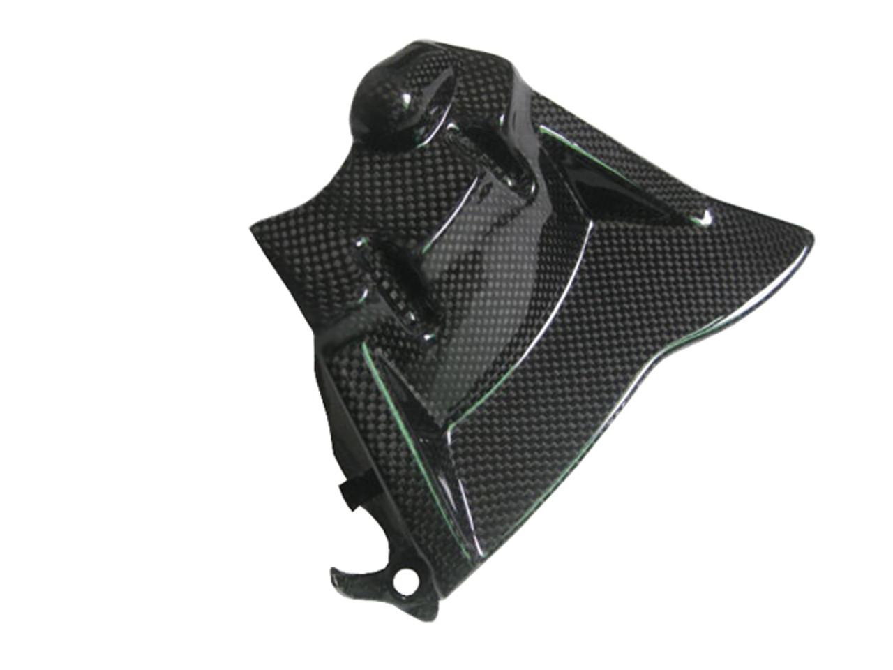 Sprocket Cover for Honda CBR 1000RR 08-16 in Glossy Plain Weave Carbon Fiber
