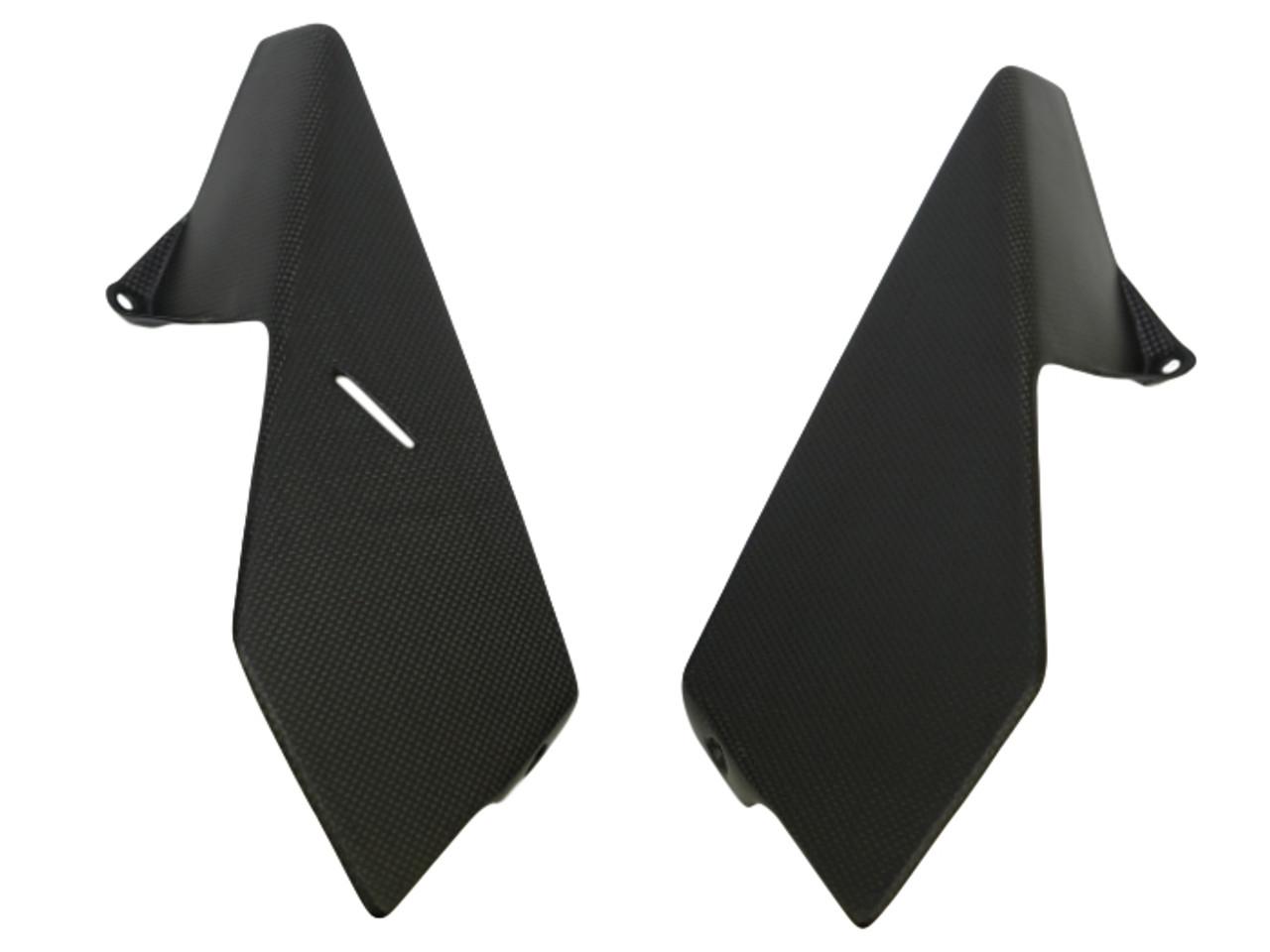 Side Panels in Matte Plain Weave Carbon Fiber for KTM Duke 790